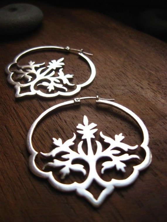 dreaming in hindi earrings - handcrafted artisan jewelry