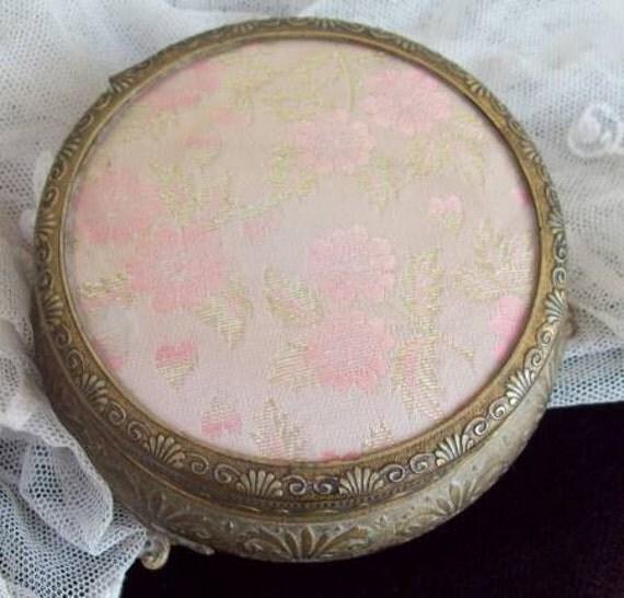 Pink Pot - Pretty Dressing Table Trinket Pot