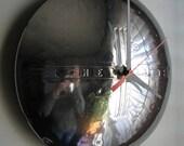 1940 Vintage Chevy Hubcap Clock