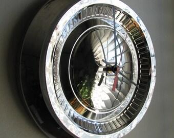 1964 Chevy BelAir Hubcap Clock no.2426