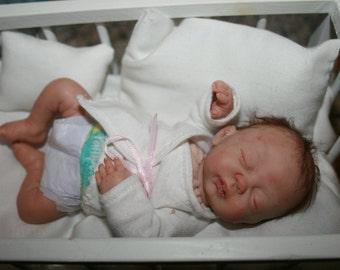 """OOAK 6.5"""" REALISTIC  NEWBORN  """"Madlyn Louise"""" Baby Doll"""