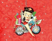 PERSONALIZED CHRISTMAS ORNAMENT - Betty Boop