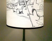 Taxis-4th Ave Park Slope, Brooklyn Lampshade
