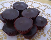 Dark Chocolate Peanut Butter Cups- 1 pound  FREE SHIPPING