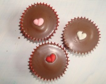 Conversation Hearts Peanut Butter Cups FREE SHIPPING