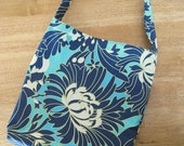 SALE - Daffodilhilltoo Daisy Chain floral Reversible Tote Sling canvas bag