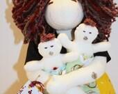 Birthing and Breastfeeding Mama of TWINS- Organic Cotton-
