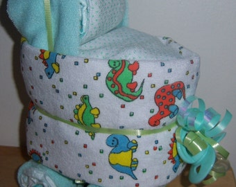 Sesame street baby shower favors bassinet by babydiapercakes - Sesame street baby shower ...