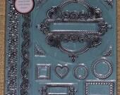 Martha Stewart clear vinyl stamps