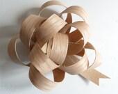red oak veneer bow