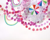 parachutes, beads, and rainbows