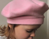 Baby Hat, Baby Beret, French Beret for Girls, French Beret for Babies, Winter Hat, Kids Hat, Hat for Kids, Fleece Hat, Fleece Beret for Baby