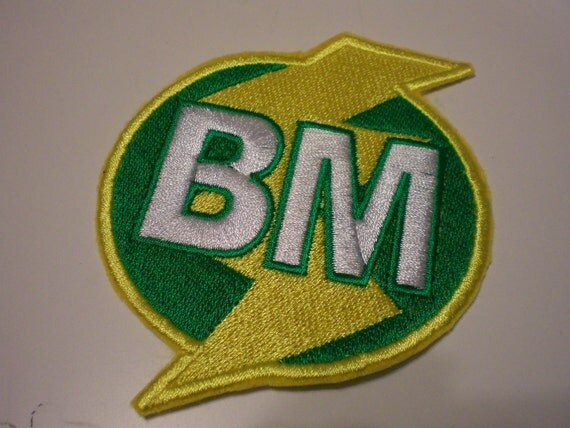 Lightening Bolt Patches Best Man or Maid of Honor or Man of Honor Patch Made With a Pin Back