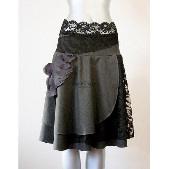 Reserved for 'eiztuc' Layered skirt, full skirt - KS064