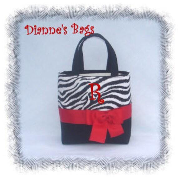 Personalized Monogrammed Tote, Purse, Handbag Bridesmaid Gift