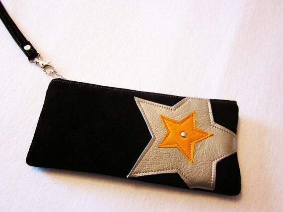 S U P E R S T A R leather zippy Wallet