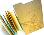 GRATITUDE JOURNAL, Folio, Found Papers Kraft Paper Folio, Journal, Book, Album, Thankful, Thankfulness