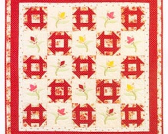 Bunny Hill Quilting Pattern... Tulips for Beginners 1006