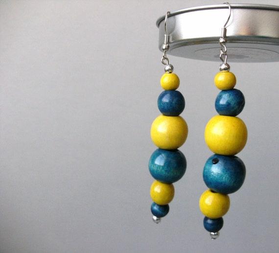 The Earjeans 365 collection: 312 FAMU vs SU beaded earrings