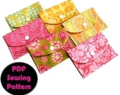 Snap Pouch PDF Sewing Pattern N009