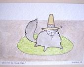 Gato en el Sombrero.