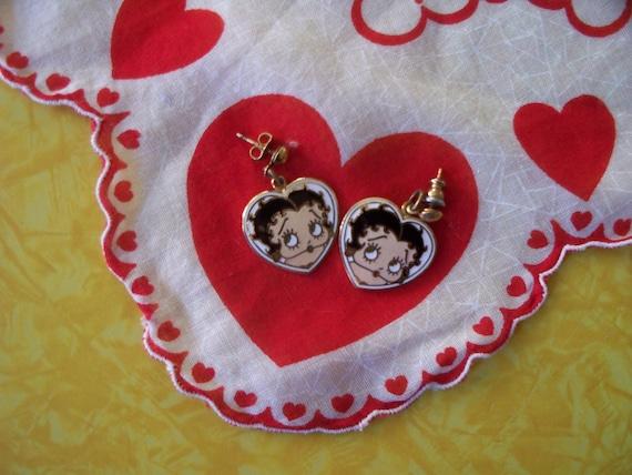 Vintage Betty Boop Earrings SALE