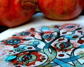 Pomegranate Love Print