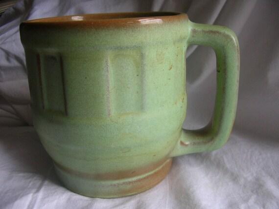 frankoma big wagonwheel mug