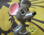 Cheese Please Vintage Enamel Mouse Pin