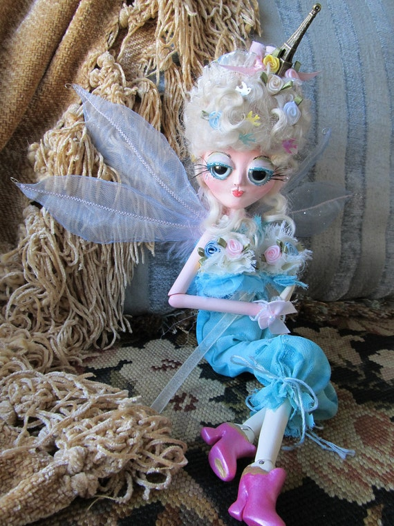 FI FI  French Fairy ball jointed art doll, ooak
