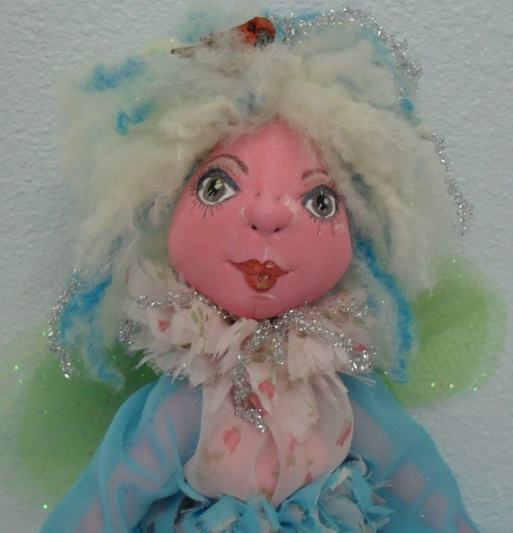 TOOTSIE, SPRITE FAERIE soft and clay fairy doll