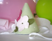 Felt Party Hat  - Pretty Little Flowers