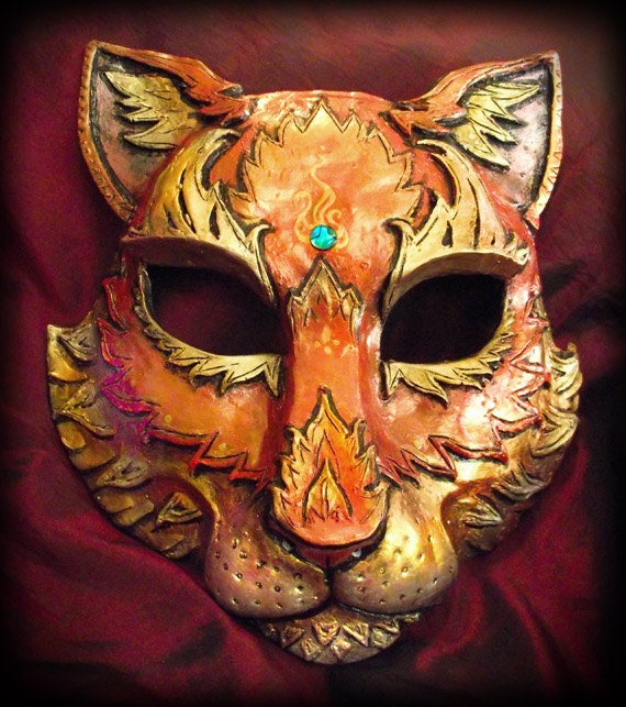 Cat Mask- Any Color and Pattern