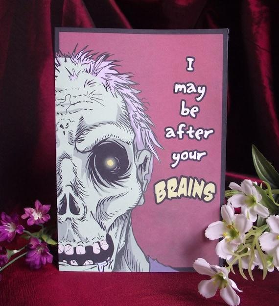 Zombie Romance Card