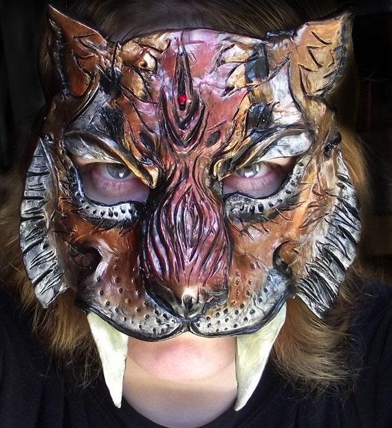 Sabertooth Tiger Mask