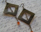 Trendy Square Earrings