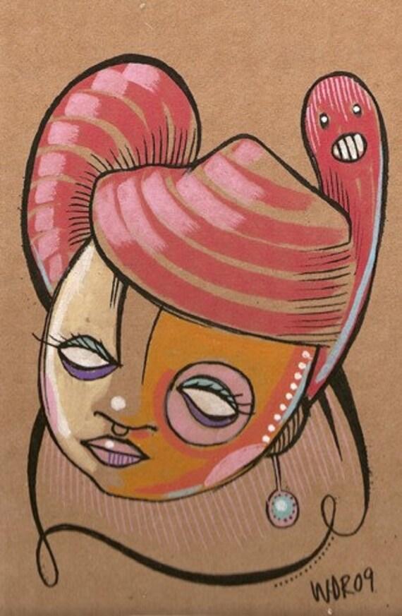 Hive Critter - Original Illustration
