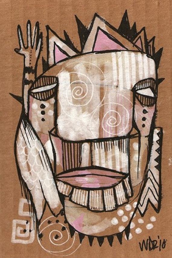 Alienator - Original Illustration