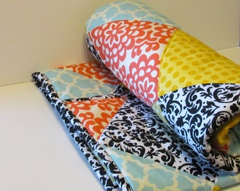 Sale-=Ready To Ship- Handmade  Baby Or Toddler Quilt