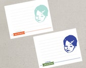 Flat Notecards - Personalized Children's Stationery Set - Customized with your child's image (Set of 10)