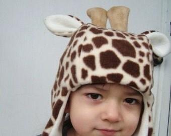 Giraffe Hat handmade animal hats child sized
