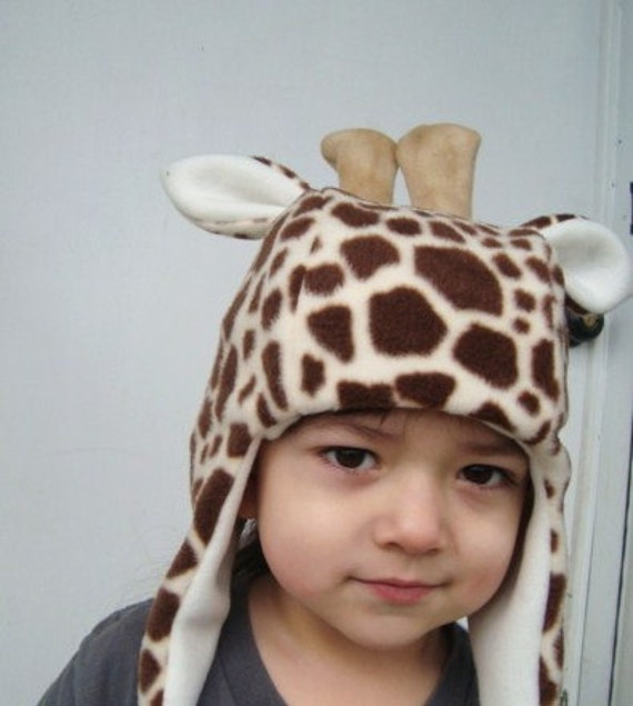 Giraffe Hat handmade animal hats child sized