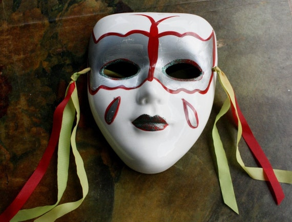 Wall Mask, Clown Face Tear Drop, Collectors Item,