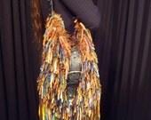 Crazy Brown Long Fringe Bag