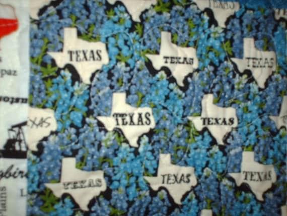 Texas Themed Quilt In Quilt Across Texas Moda Fabric