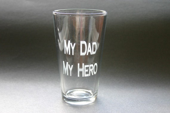 Custom Engraved Beer Glass Etched Pint