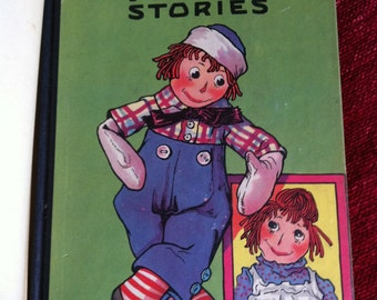 Vintage Raggedy Andy Stories Book