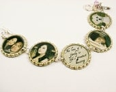 CUSTOM Personalized  Photo Bottle Cap Bracelet