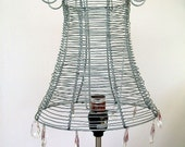 RECYCLED WIRE LAMPSHADE urban design
