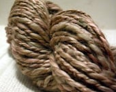 DESERT - hand dyed handspun cotton and ramie yarn - 100g \/ 110m